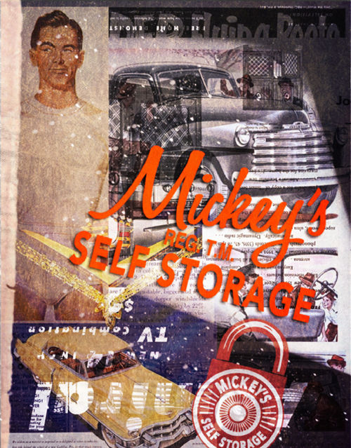 MICKEY'S SELF STORAGE - Packaging Booklet