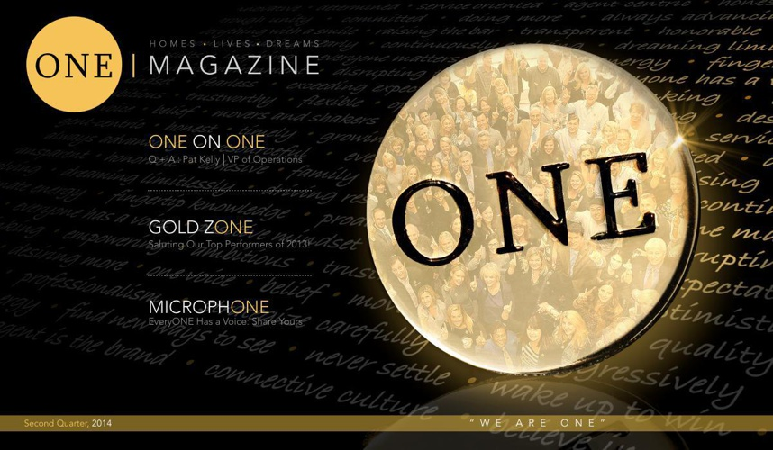 ONE Magazine Second Quarter 2014