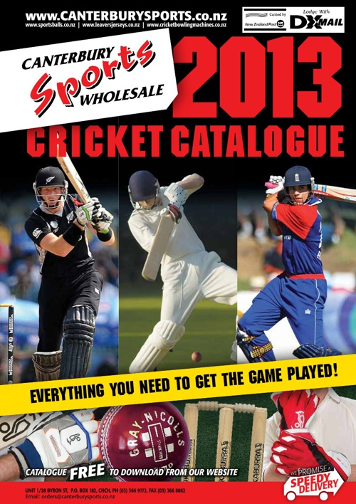 2013 Cricket Catalogue