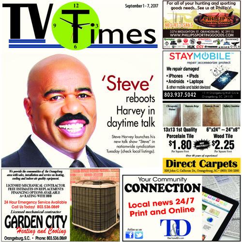 TV Times Sept 1-7, 2017