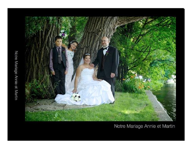 Album Mariage de Annie et Martin