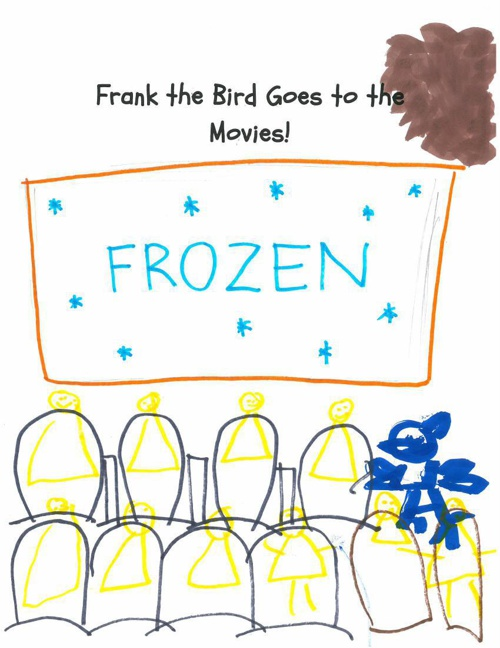 Frank the Bird Goes to the Movies
