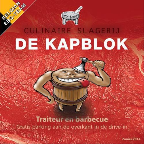 De KAPBLOK - traiteur en barbecue ZOMER 2014