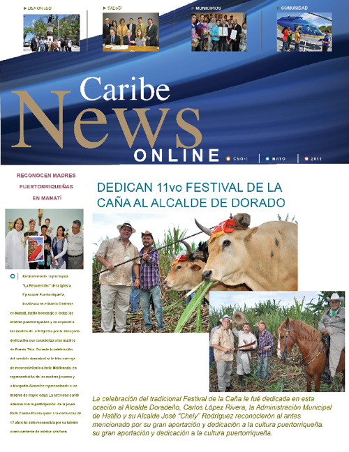 Caribe News Online 1st edition - 2011