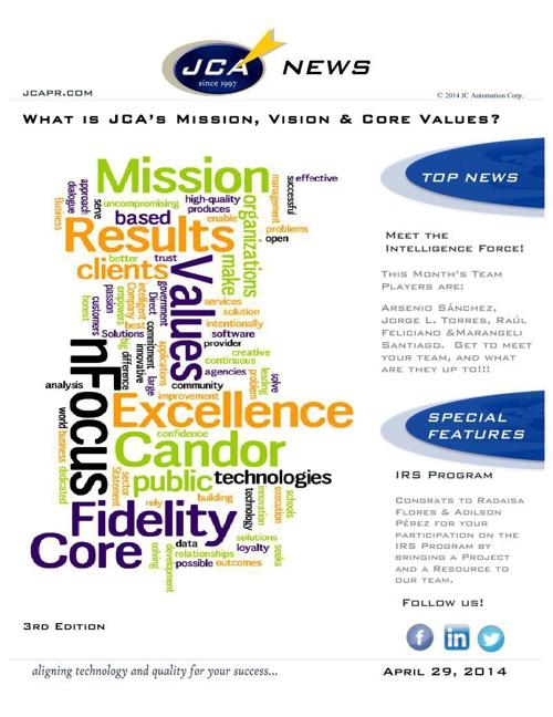 JCA_Newsletter_April_Edition-042914-001 rev2