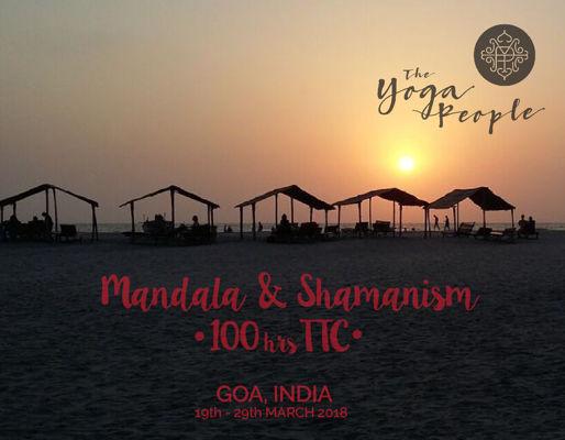 100 hrs Mandala Shamanism  TTC- Goa 2018