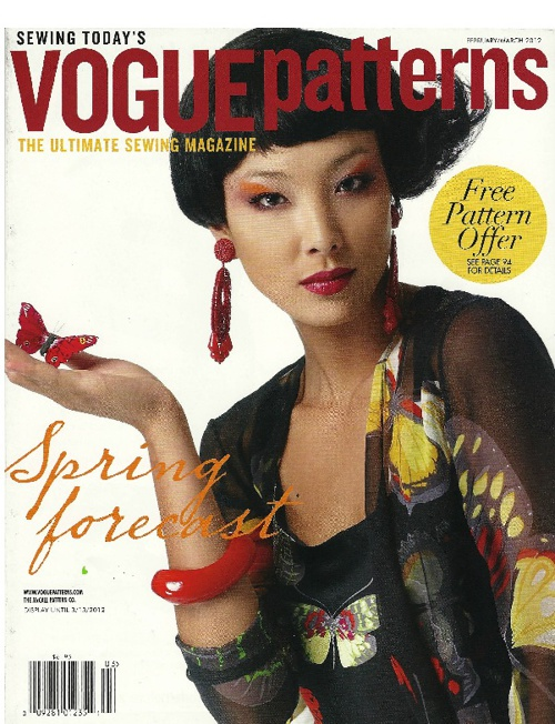 Vogue Patterns Feb/Mar 2011 Issue