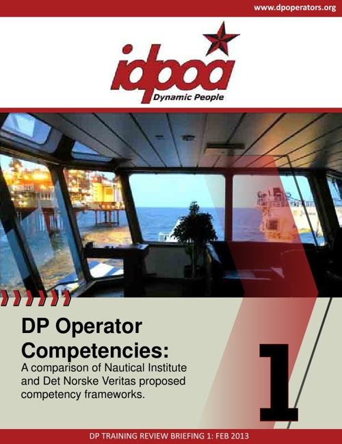 IDPOA DPO Competency Review