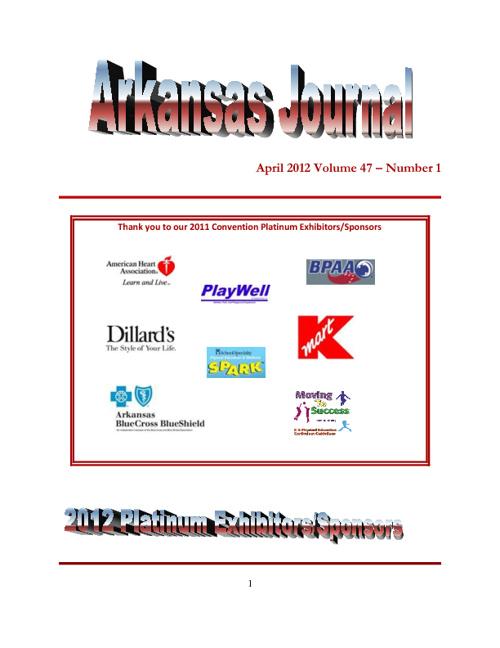 2012 Arkansas Journal