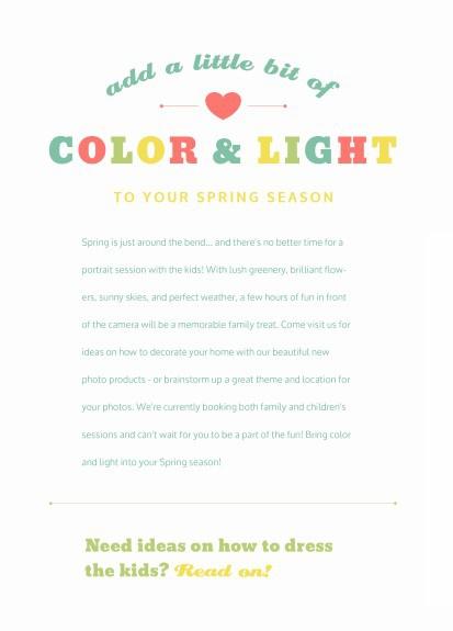 Sherí Taylor Photography Spring Mini Guide