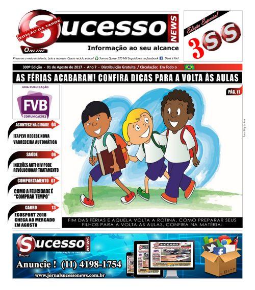 Jornal Sucesso News - Edição - 300 ONLINE