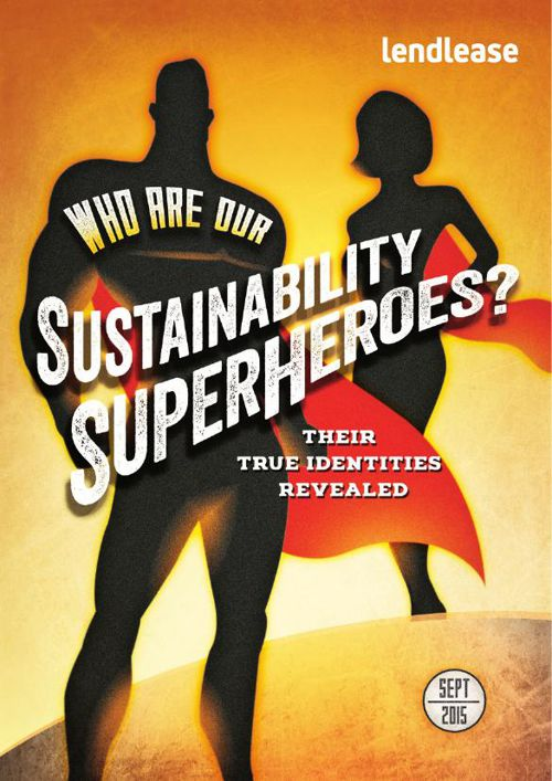 Sustainability Superhero