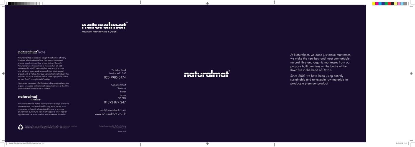 Naturalmat Retail Brochure