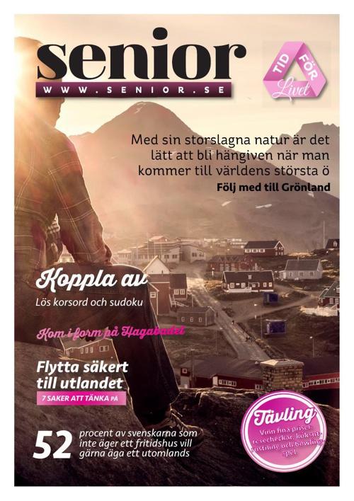 """""""Senior - Tid för Livet"""" aug/sept 2014"""