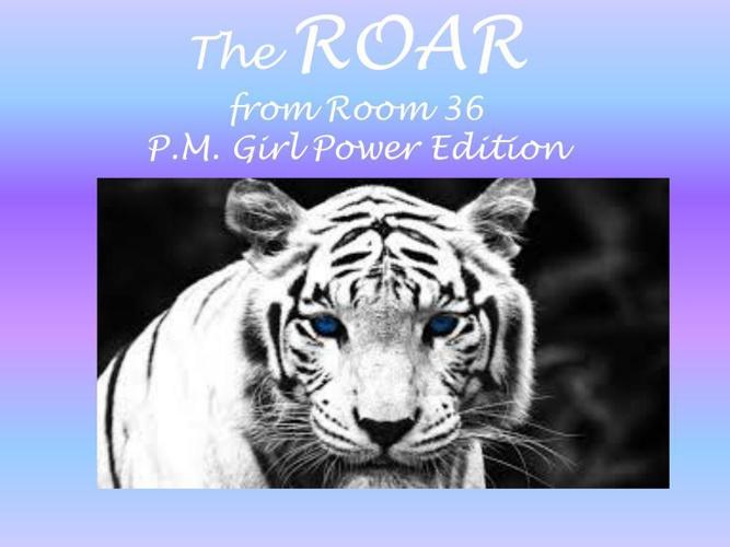 PM ROAR COVER Girl power
