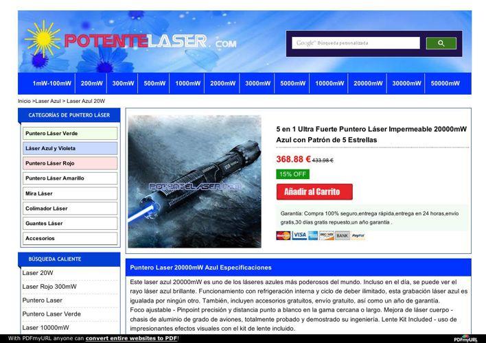 Laser  20000mW