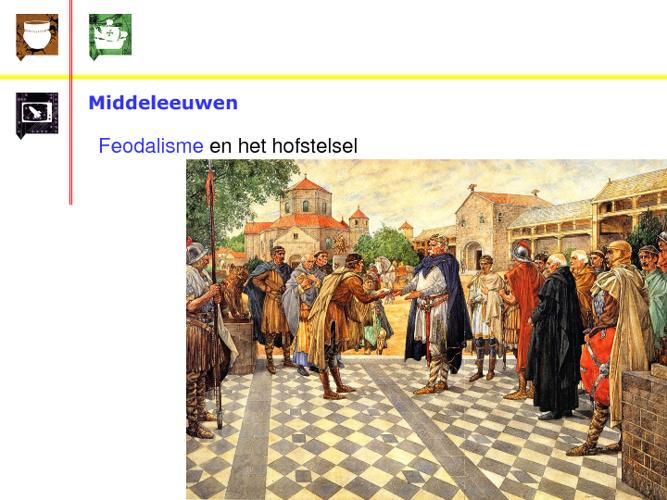 landbouw in de middeleeuwen