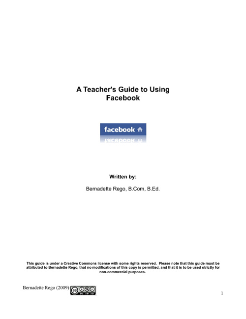 A Teacher's Guide to Using Facebook