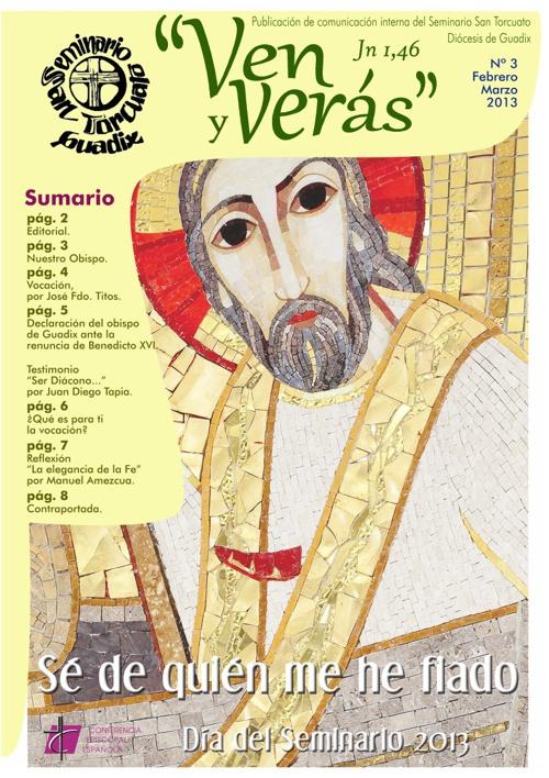 Nº 3: Revista «Ven y verás» de los meses de febrero y marzo 2013