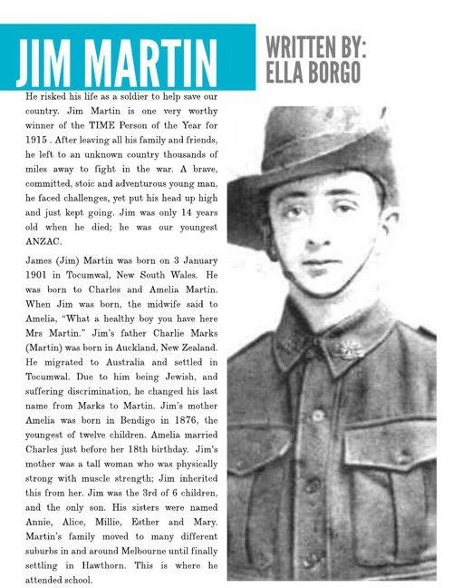 Jim Martin Biography (1)