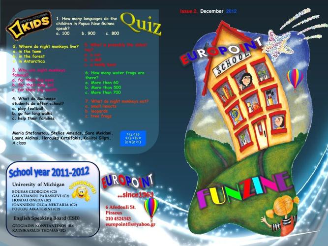 Europoint Funzine