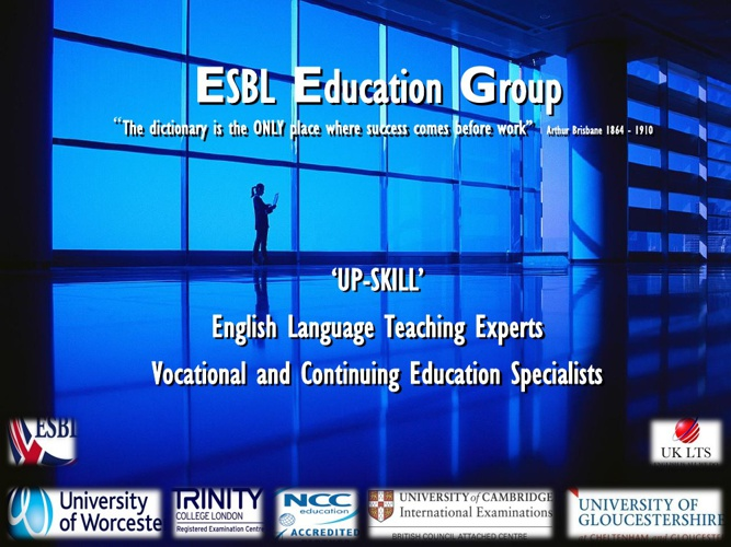 Introducing ESBL Education Group