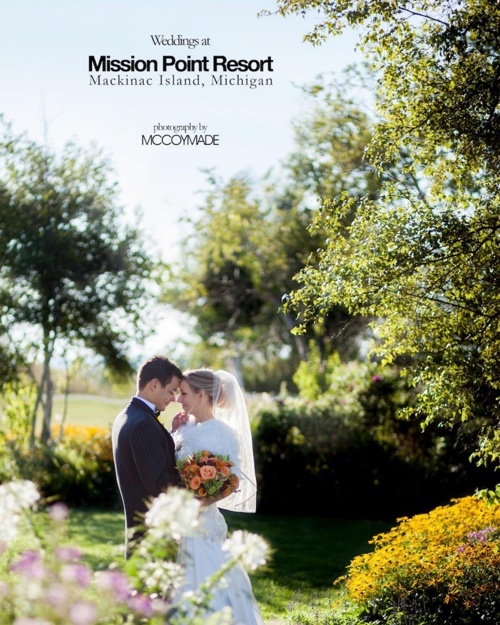 Mission Point Resort Wedding Photography by McCoy Made