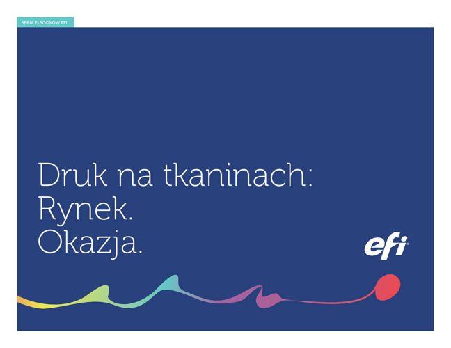 Druk na tkaninach: Rynek. Okazja - Polish