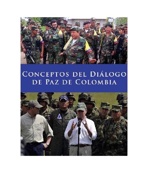 Conceptos del Diálogo de Paz de Colombia