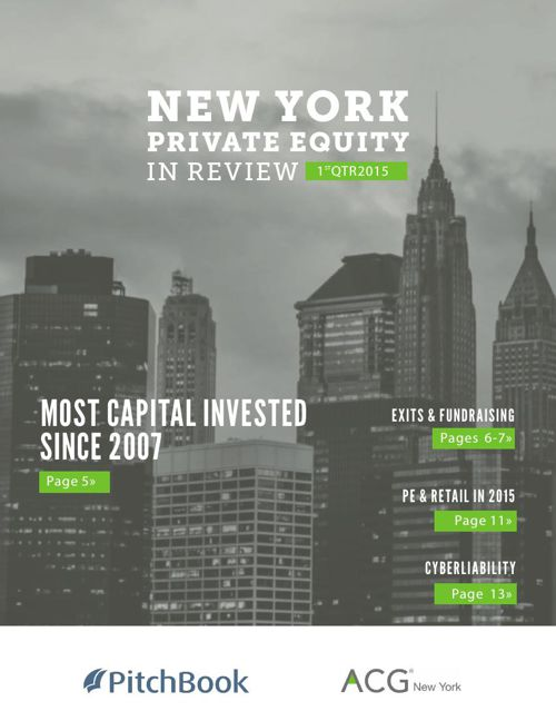 ACG New York Private Equity in Review 1Q 2015