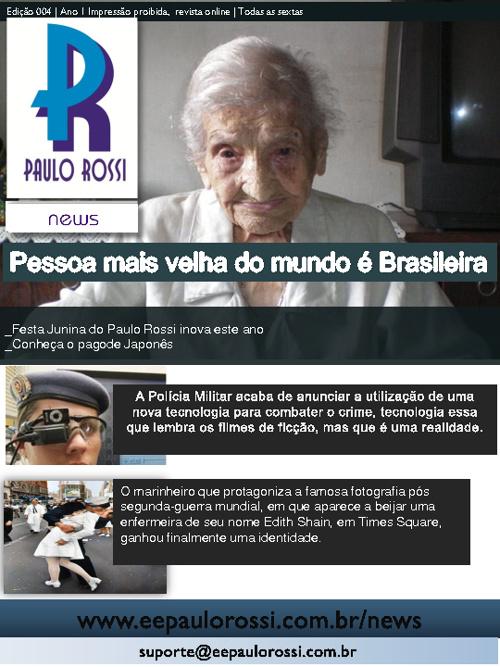 Paulo Rossi News | Ed.4 | 2011