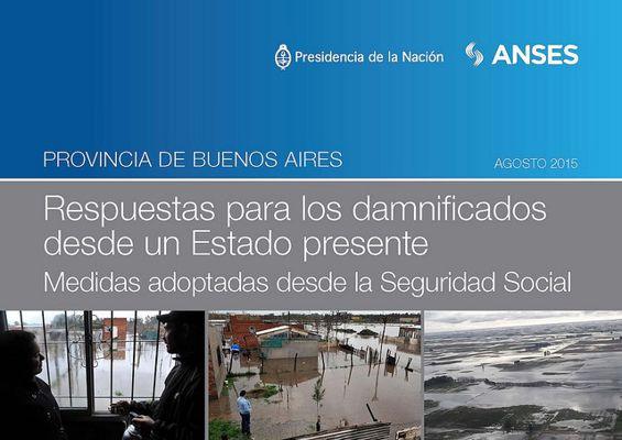 Medidas de protección social para afectados por las inundaciones