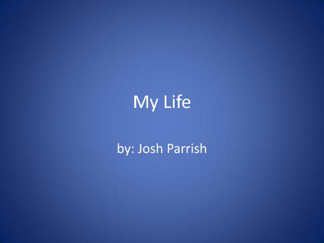 Josh's flip book