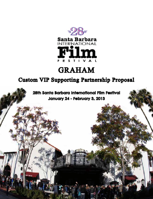 GRAHAM 2013 SBIFF Partnership Proposal