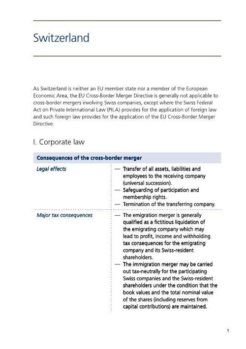 CrossB_Switzerland_Corporate Law