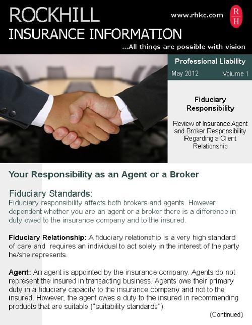Rockhill Insurance - Fiduciary Responsibility