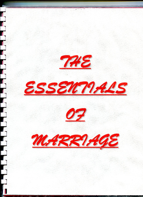 The Essentials Of Marriage