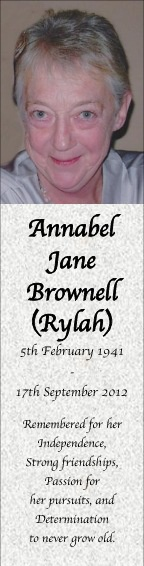 Annabel Brownell
