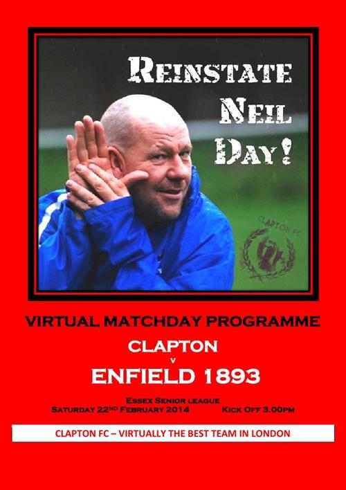 Clapton FC v Enfield 1893 FC