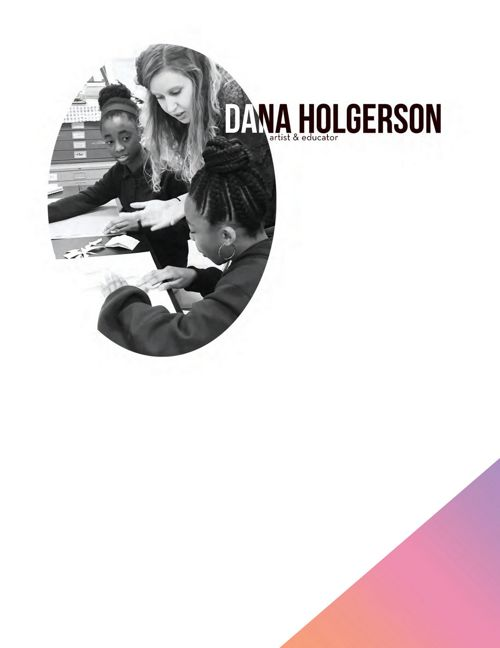 Dana Holgerson, Art Educator
