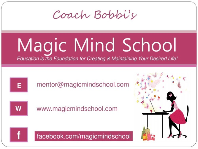 Magic Mind School Information Booklet