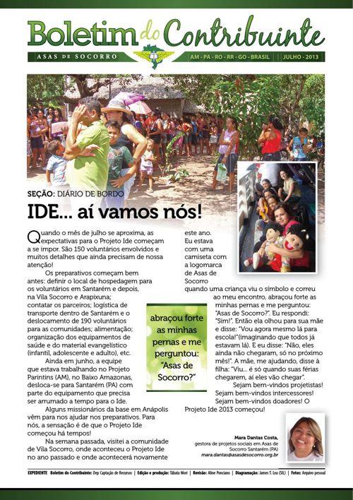 2013 - Notícias Julho