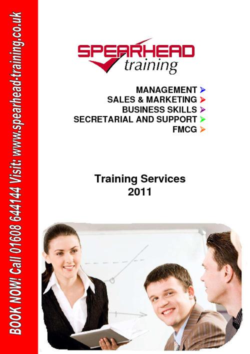 Spearhead Training