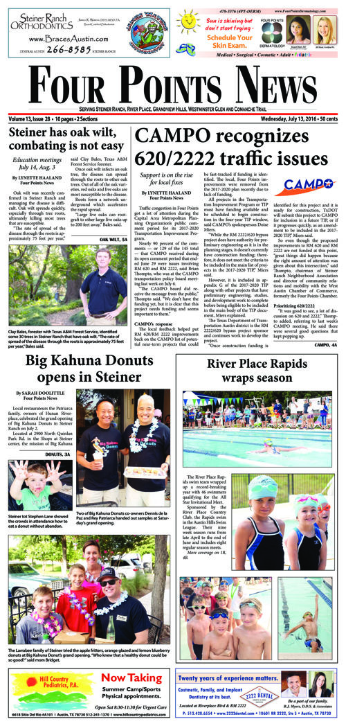 Four Points News July 13 2016