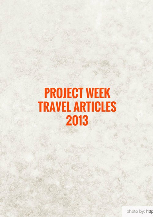 sample best travel articles 2013