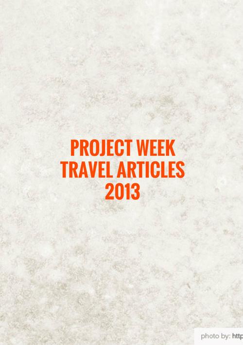 sample best travel articles 2013