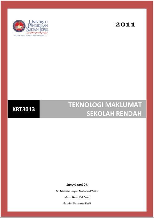 KRT3013 TEKNOLOGI MAKLUMAT SR