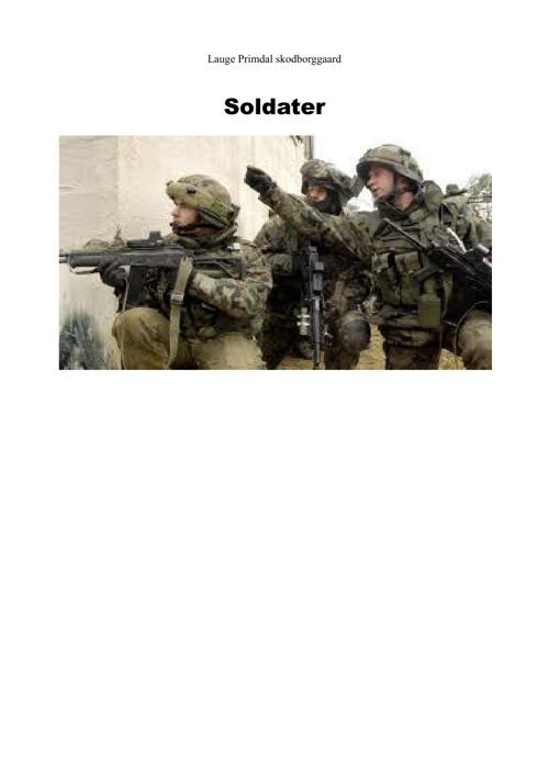 Soldater i krig og fred
