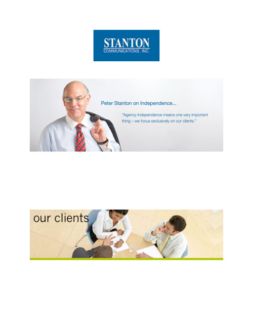 Stanton Communicvations' Clients