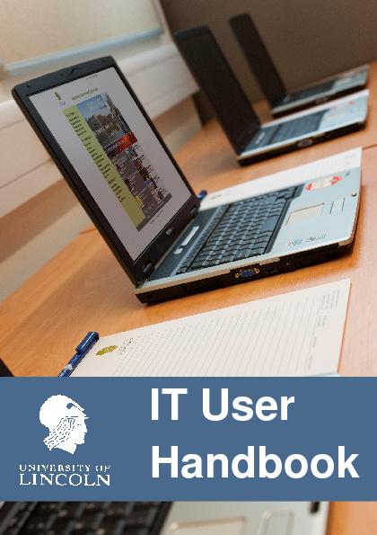 IT User Handbook